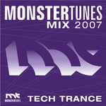 VARIOUS - Monster Tunes Mix 2007 Tech Trance Mix (Front Cover)