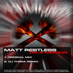 RESTLESS, Matt - On A Mission (Back Cover)