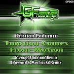PADURARU, Cristian - Emotion Comes From Motion (Front Cover)