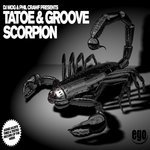DJ MOG/PHIL CRAWF present TATOE/GROOVE - Scorpion (Front Cover)
