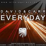 DAVID/CARR feat JENNA COLAIZY - Every Day (Front Cover)