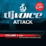 VARIOUS - DJ Voice Attack Vol 1 2008 (Front Cover)