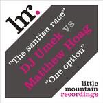 DJ UMEK vs MATTHEW HOAG - The Santien Race (Front Cover)