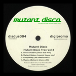 MUTANT DISCO - Mutant Disco Trax Vol 4 (Front Cover)