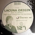 LACUNA ORIGIN - Sick Of Trance (Front Cover)