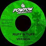 POW POW PRODUCTIONS - Ruff & Tuff Riddim (Front Cover)