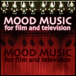 VARIOUS - Mood Music For Film And Television (Front Cover)