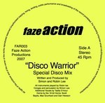 FAZE ACTION - Disco Warrior (Front Cover)