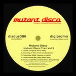 MUTANT DISCO - Mutant Disco Trax Vol 5 (Front Cover)