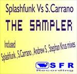 SPLASHFUNK/SILVIO CARRANO - The Sampler (Front Cover)