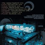 WISP/OCHRE/ENDUSER/MULTIPLEX/LINE 47/DOOFGOBIN/THE GASMAN/RUSUDEN - Formulae Remixes (Back Cover)