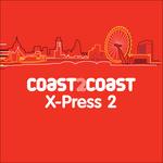 VARIOUS - X-Press 2 'Coast 2 Coast' (Front Cover)
