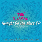 QUASAR, The - Twilight On The Mars EP (Front Cover)