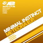 MINIMAL INSTINCT - Meteora EP (Back Cover)