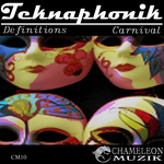 TEKNAPHONIK - Definitions EP (Front Cover)