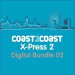 VARIOUS - X-Press 2 'Coast 2 Coast' (Digital Bundle 2) (Front Cover)