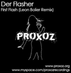 DER FLASHER - First Flash (Front Cover)