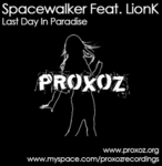 SPACEWALKER feat LIONK - Last Day In Paradise (Front Cover)