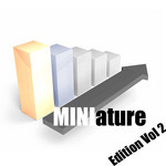 VARIOUS - Miniature Vol 2 (Front Cover)