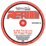 REFUNK - Roll The Drums (Back Cover)
