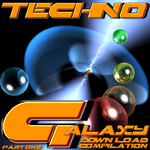 VARIOUS - Techno Galaxy (Part One) (Front Cover)