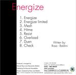 DJ R MX vs WHITE ANGEL - Energize (Back Cover)