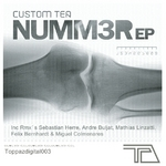CUSTOM TEA - Nummer EP (Front Cover)