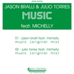 BRALLI, Jason feat MICHELLY - Music (Front Cover)