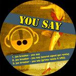 BREAKER, Joe - You Say (Back Cover)
