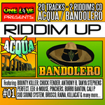 VARIOUS - Riddim Up # 1: Acqua/Bandolero (Front Cover)