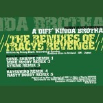 A DIFFERENT KINDA BROTHA - Tracys Revenge (The Remixes) (Front Cover)