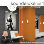 VARIOUS - Soundeluxe Vol 1 (Front Cover)