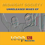 IN GRID/MIDNIGHT SOCIETY - Unreleased Mixes EP (Front Cover)