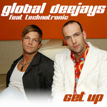 GLOBAL DEEJAYS - Get Up (Front Cover)