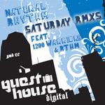 NATURAL RHYTHM - Saturdays (remixes) (Front Cover)