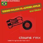 PALUDO, Ticiano feat JUPITER APPLE - Clowns (Elektro-Groovie-Rock Remix) (Front Cover)