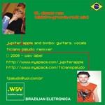 PALUDO, Ticiano feat JUPITER APPLE - Clowns (Elektro-Groovie-Rock Remix) (Back Cover)