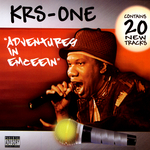 KRS ONE/VARIOUS - Adventures In Emceein (Front Cover)