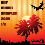 VARIOUS - Gkf Miami Sampler 2008 1/2 (Front Cover)