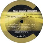 POOR KNIGHT, The - Cabinet 13 (Front Cover)