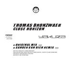 BRONZWAER, Thomas - Close Horizon (Front Cover)