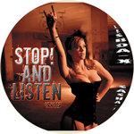 LISBOA X feat SASHA F - Stop! & Listen (Front Cover)
