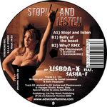 LISBOA X feat SASHA F - Stop! & Listen (Back Cover)