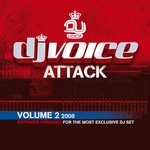 VARIOUS - DJ Voice Attack Vol 2 2008 (Front Cover)