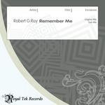 ROY, Robert G - Remember Me (Back Cover)