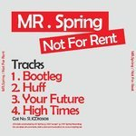 MR SPRING - Not For Rent EP (Back Cover)