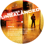 MISTER X - Unbalanced EP (Back Cover)