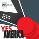 YES AMERICA feat CAVALASKA - Looking At You (Front Cover)