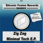 DJ ZIGZAG - Minimal Tech EP (Back Cover)