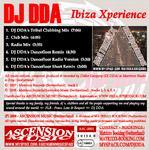 DJ DDA - Ibiza Xperience (Back Cover)